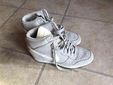 Women's Nike Trainers: Nike Dunk: Light Grey: Size 6 High Tops