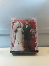 2008 Mattel Barbie Ken Elvis and Priscilla Wedding Day Set PInk Label