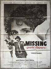 Affiche MISSING PORTE DISPARU Jack Lemmon COSTA-GAVRAS 120x160cm*