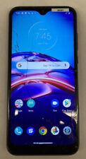 BOOST MOBILE Motorola Moto E (2020) 4G LTE 32GB Blue XT2052-6 Cracked Screen