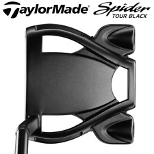 """""""LTD EDITION"""" TAYLORMADE SPIDER TOUR BLACK #3 34"""" PUTTER + HEADCOVER"""