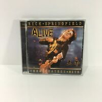 Rick Springfield Alive The Greatest Hits Music Audio CD