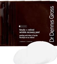 Dr Dennis Gross FERULIC RETINOL WRINKLE RECOVERY Peel 8 Treatments NO BOX- NEW!