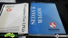 HOLDEN VY SERIES 2 SEDAN AND WAGON OWNERS MANUAL