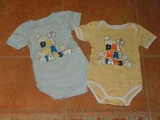 2x Disney Bodys/ Bodies kurzarm + mit 101 Dalmatiner Motiv Gr. 74/80 (12 Monate)