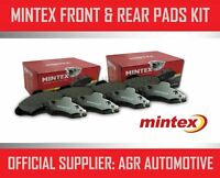 MINTEX FRONT AND REAR BRAKE PADS FOR BMW 635 3.5 (E24) 1982-90