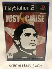 JUST CAUSE - SONY PS2 - VIDEOGIOCO NUOVO SIGILLATO - NEW SEALED PAL VERSION