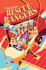 RESCUE RANGERS CHIP N DALE DISNEY 2018 limited edition print 200 HACKTO OSHIRO