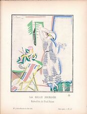 "Georges Lepape, Gazette du Bon Ton ""La Belle Journee"""