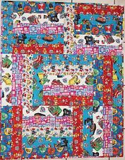 New Paw Patrol Chase Everest Skye & Tracker Handmade & Finished Quilt