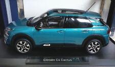 Citroen C4 Cactus 2018 Blu modello Auto 1 18 / Norev