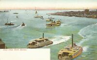 NEW YORK CITY – New York Harbor – udb (pre 1908)