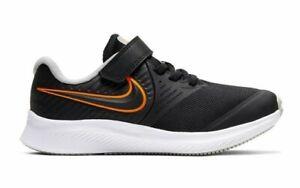 Kids Nike Star Runner 2 (PSV)Trainers AT1801 008 Black/White Size UK 10.5 to 2.5
