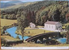 Irish Postcard Vale Of Clara Co Wicklow Ireland Church Bridge John Hinde 2/47