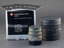 Leica M 50mm 2.0 Safari Summicron grün 6bit 11824 FOTO-GÖRLITZ Ankauf+Verkauf