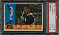 1960 Topps #326 Roberto Clemente Card - HOF - Pirates - PSA 6 - EX-MT - 06254978