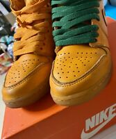 2017 Nike Air Jordan 1 Retro Hi OG Gatorade Orange 🍊 Peel Size 4Y AJ6000-880