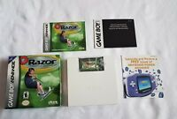 Razor Freestyle Scooter (Nintendo Game Boy Advance GBA COMPLETE IN BOX GOOD