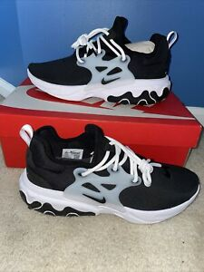 """Nike React Presto """"Ghost"""" Black Running Shoes  Size 10.5"""