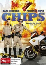 CHiPs (DVD, 2017) D Shepard M Pena R Salazar A Brody V D'Onofrio LIKE NEW
