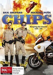 Chips (DVD, 2017) Australian Stock