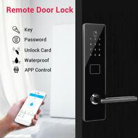 Smart Door Lock Keyless Code Security Door Handle Locks Card Tag Entry Padlock
