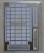 GALERIE DE TOIT CAMION MERCEDES 406 D ASSISTANCE RALLYE METAL AU 1/43 90 X 43 mm
