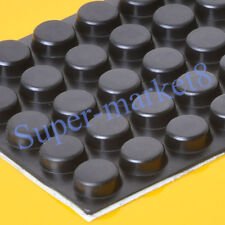 3M 50pcs 12x5mm Rubber Sticker Round Feet Pads Speaker Pedal Effect Cabinet