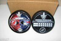 NHL Hockey 2008 Stanley Cup Playoffs New Jersey Devils vs New York Rangers Puck