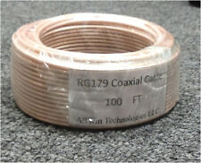 RF Coaxial cable RG179 /100feet 75ohm new free shippng