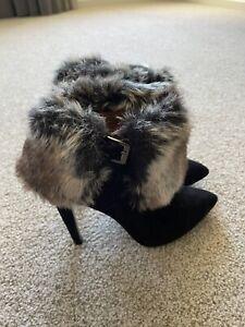 Fur Boots Size 7