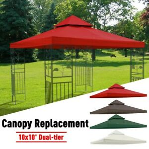 Gazebo Marquee Top Canopy Replacement for 3.1X3.1M Outdoor Party Wedding Event