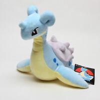 Pokemon Center Japan Original 25Cm Lapras Mascot Soft Plush Toys Stuffed Doll