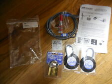 """New SecurTech 60"""" Security Cable Lock 2 Spot Anchors Adhesive Instructions"""