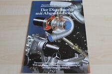 139576) Mercedes - Diesel + Turbo - Prospekt 08/1979