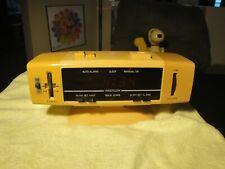 vintage retro Westclox  80118  AM/FM electronic Clock Radio with Alarm