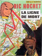 FUMETTO RIC HOCHET LA LIGNE DE MORT EDITIONS DU LOMBARD 1976
