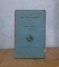 GENES ROME BOLOGNE LA VIERGE ET LES SAINTS EN ITALIE RECITS D'UN PELERIN (1842).