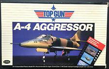 """Testors Kit No.291, """"TOP GUN AGGRESSOR"""", DOUGLAS A-4 , 1/48 - MIB & SEALED, 1986"""