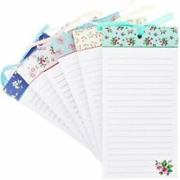 6-Pack Magnetic To-Do-List Notepad for Fridge Grocery, 60 Sheets Per Pad, 4 x 8""