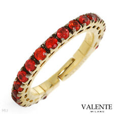 Valente. Italy 18k Yellow Gold Ring 1.24 Ctw Genuine Sapphires, Size 6 US. New
