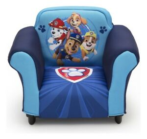 Delta Children Nick Jr. PAW Patrol Kids Upholstered Chair With Plastic Frame