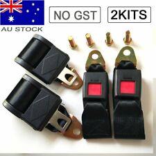 2 Point Retractable AU Car Bus Seat Lap Sash Belt Strap Safe Seatbelt For Subaru