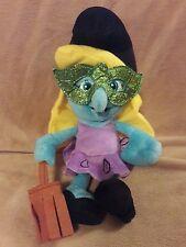 "KELLYTOY THE SMURFS 2011 SMURFETTE witch  plush stuffed animal toy 9.5"""