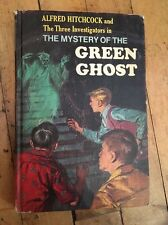 Vintage Hardcover Book~ THE MYSTERY OF THE GREEN GHOST Alfred Hitchcock
