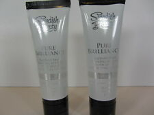 2 PACK PURE BRILLIANCE 1 OZ. TUBE SAMPLES of TANNING LOTION by SWEDISH BEAUTY