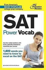 SAT Power Vocab by Princeton Review (Paperback, 2013)