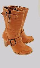 Capa De Ozono Mid Calf Boot Double Adjustable Straps & Side Zipper Women Sz. *8