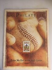 Usa Philatelic Fall 2008 Volume 13 Number 3 - Take Me Out To The Ball Game- Used