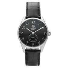 Tag Heuer Carrera WAS2110 Steel 39mm Black Leather Automatic Men's Watch